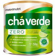 Chá Verde Solúvel Zero 250g Maxinutri