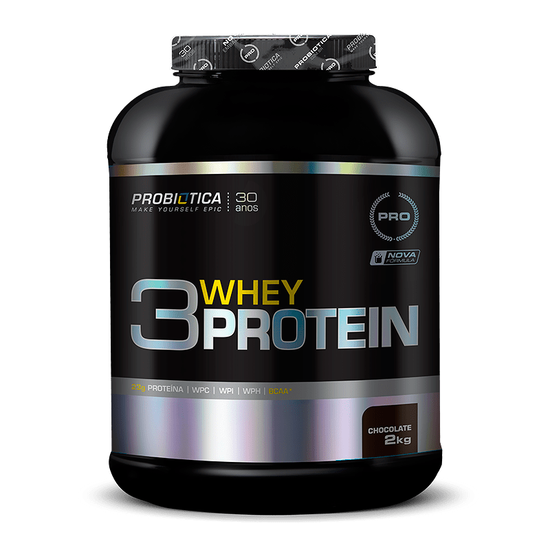 3 Whey Protein 2kg Probiótica