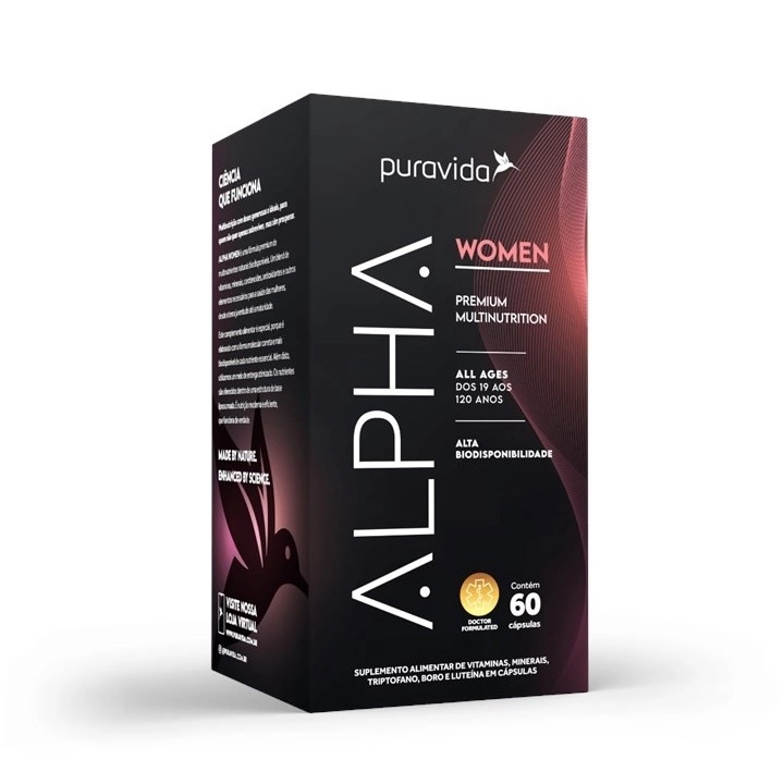 Alpha Women Premium 60 Cápsulas Pura Vida