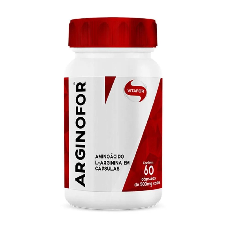 Arginofor 500mg 60 Cápsulas Vitafor