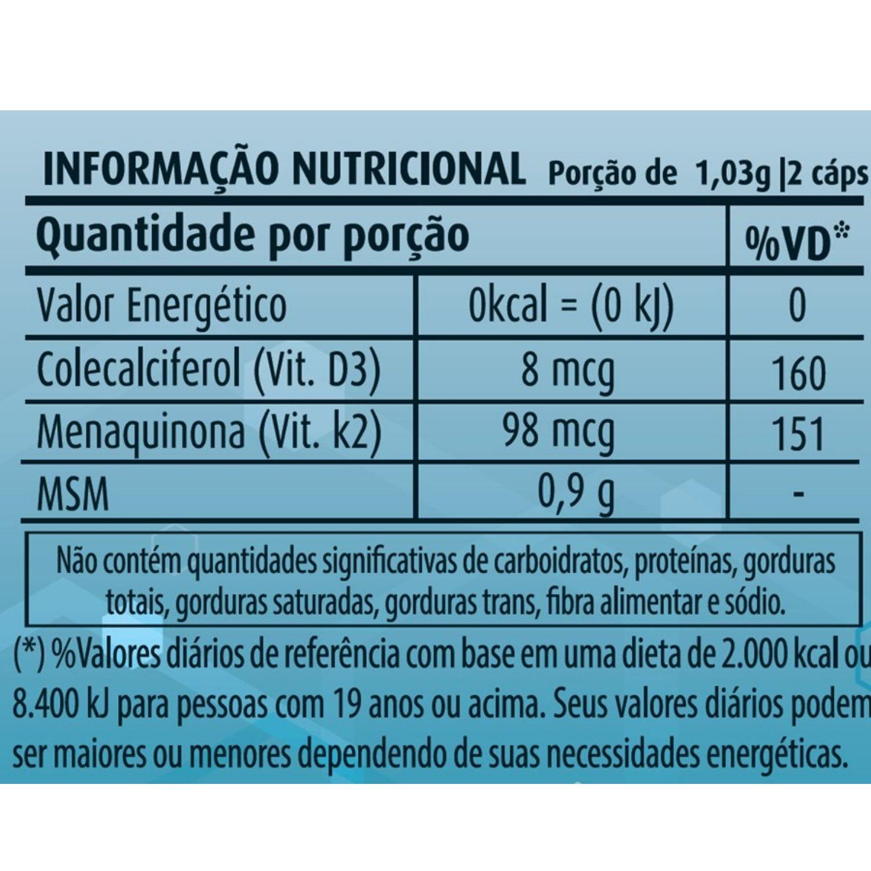 Artro MSM 515mg 60 Cápsulas Apisnutri