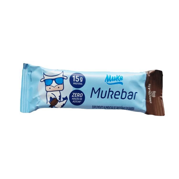 Whey Muke Barra Mukebar Sabor Chocolate 60g +MU