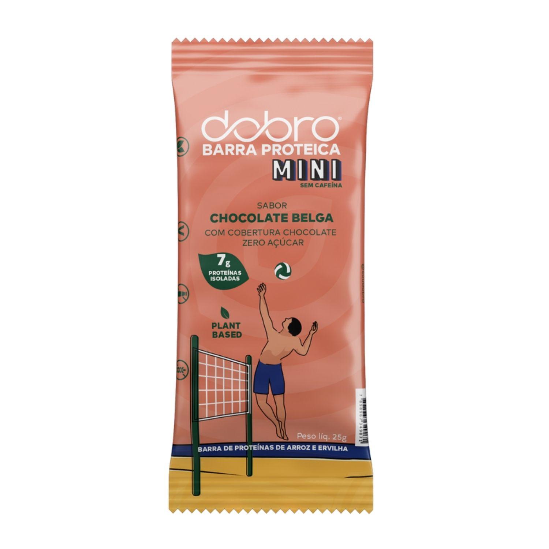 Barra Proteica Dobro MINI Chocolate Belga 25g