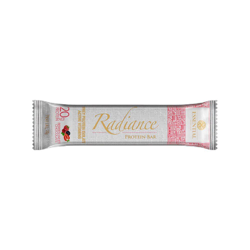 Barra Radiance Berries + White Chocolate 70g Vegan Protein Essential Nutrition