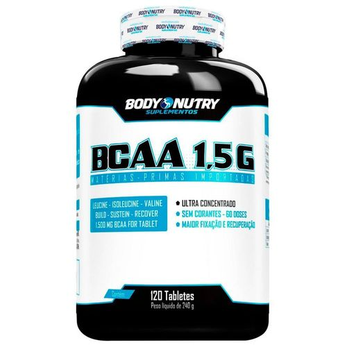 BCAA 1,5g 120 Tabletes Body Nutry