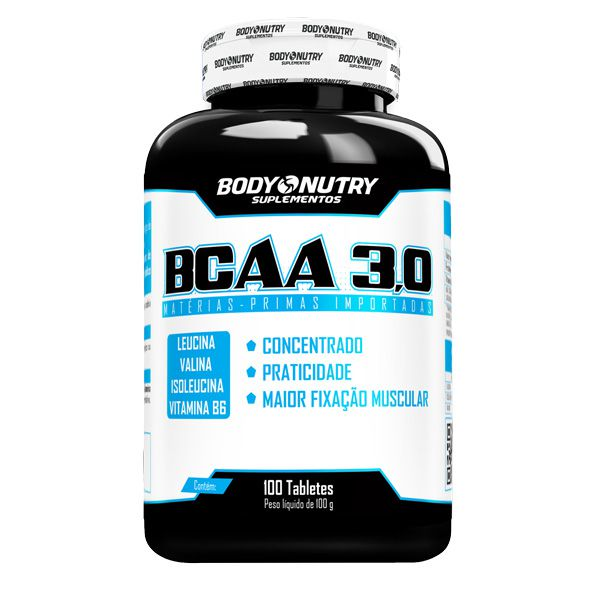 BCAA 3,0 (100 Tabletes) Body Nutry