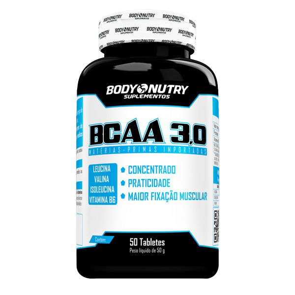 BCAA 3,0 (50 Tabletes) Body Nutry