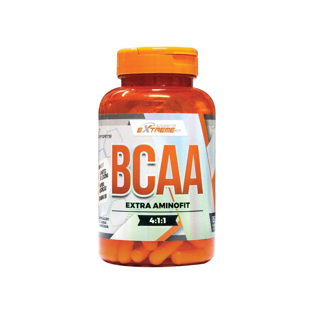 BCAA 4:1:1 Amino Fit 150 Cápsulas ExtremeFit