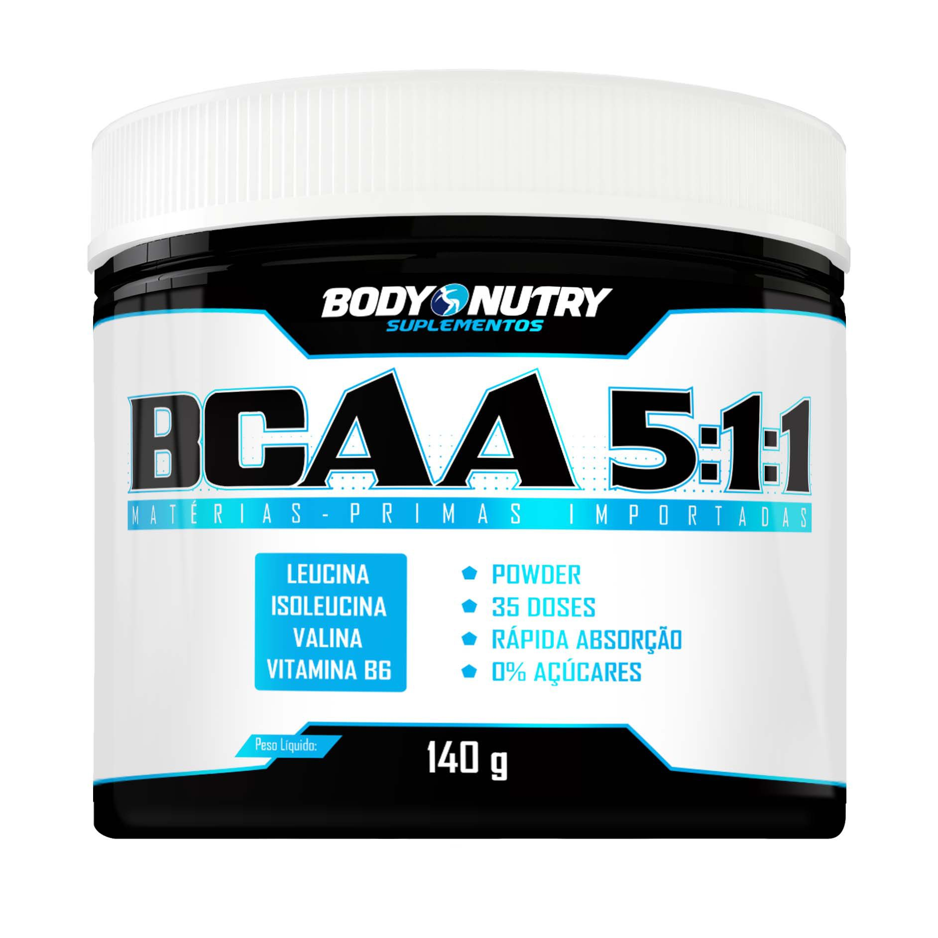 BCAA 5:1:1 140g Body Nutry
