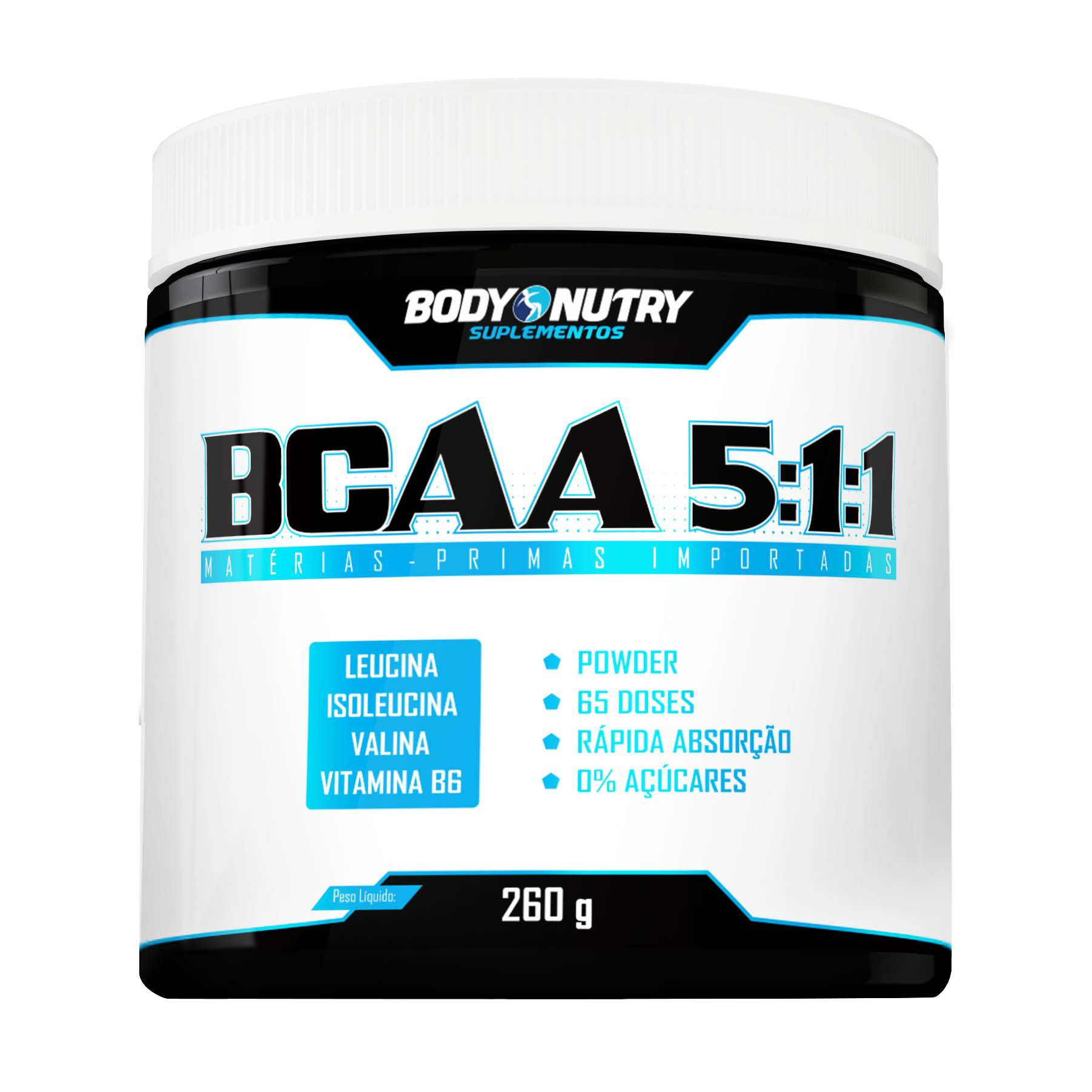 BCAA 5:1:1 260g Body Nutry