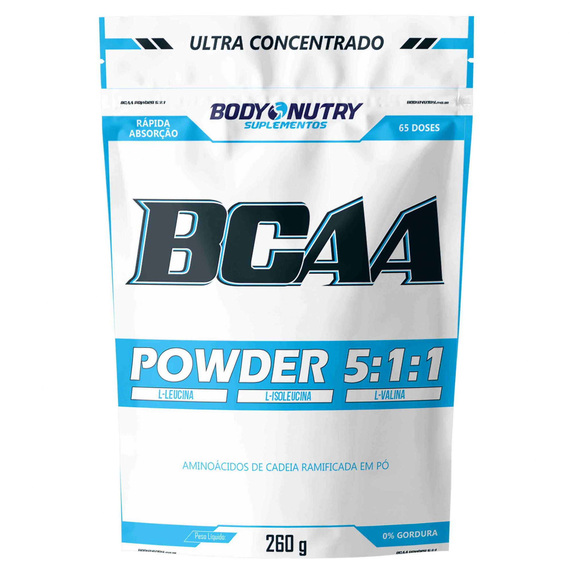 BCAA 5:1:1 Refil 260g Body Nutry