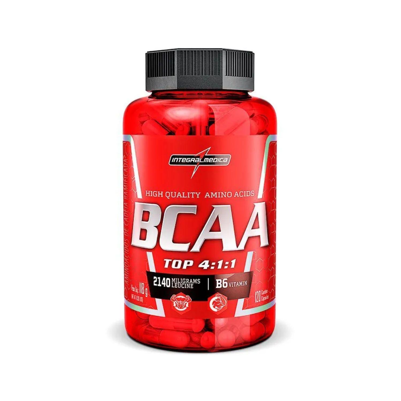 BCAA Top 4:1:1 120 Cápsulas Integralmedica