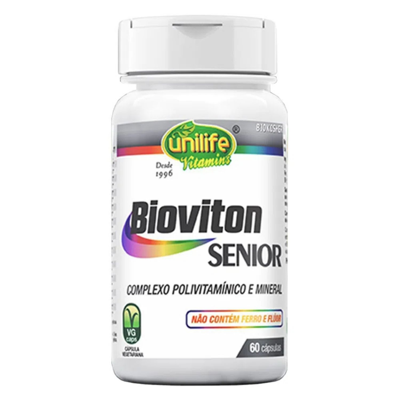 Bioviton Senior Polivitamínico de A-Z 60 Cápsulas Unilife