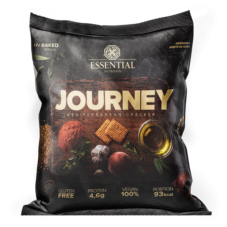 Biscoito Cracker Journey Cracker 25g Vegano Sem Glúten Essential Nutrition