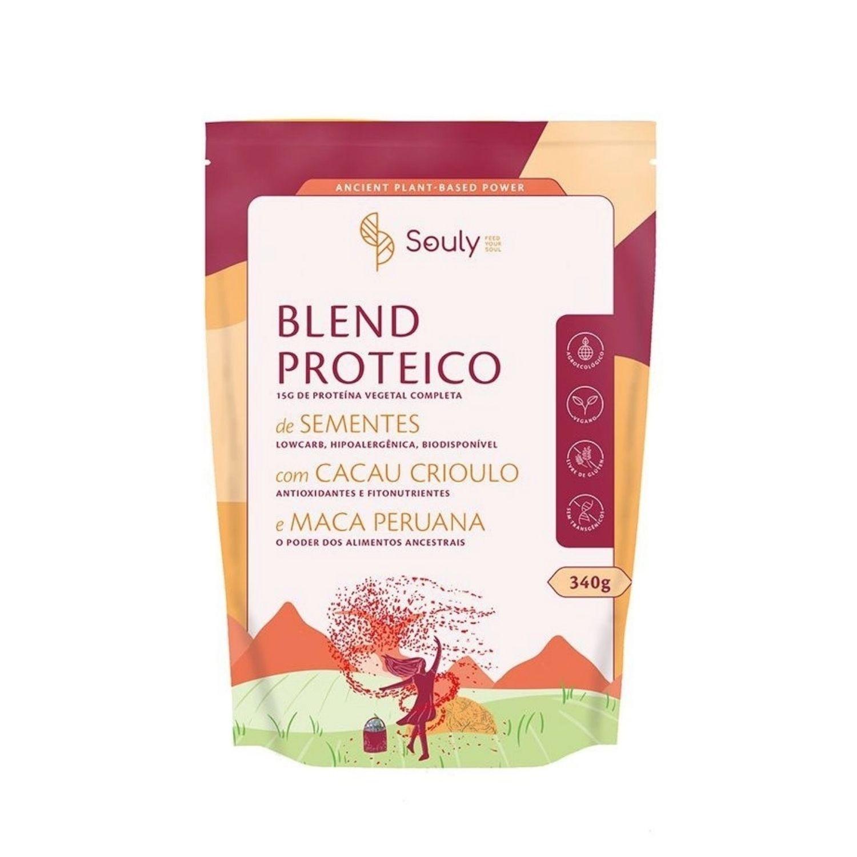 Blend Proteico com Cacau e Maca Peruana 340g Souly