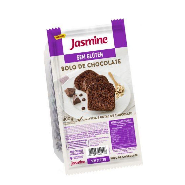 Bolo Sem Glúten Chocolate com Gotas 300g  Jasmine