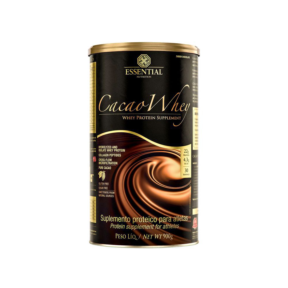 Cacao Whey 900g Essential Nutrition