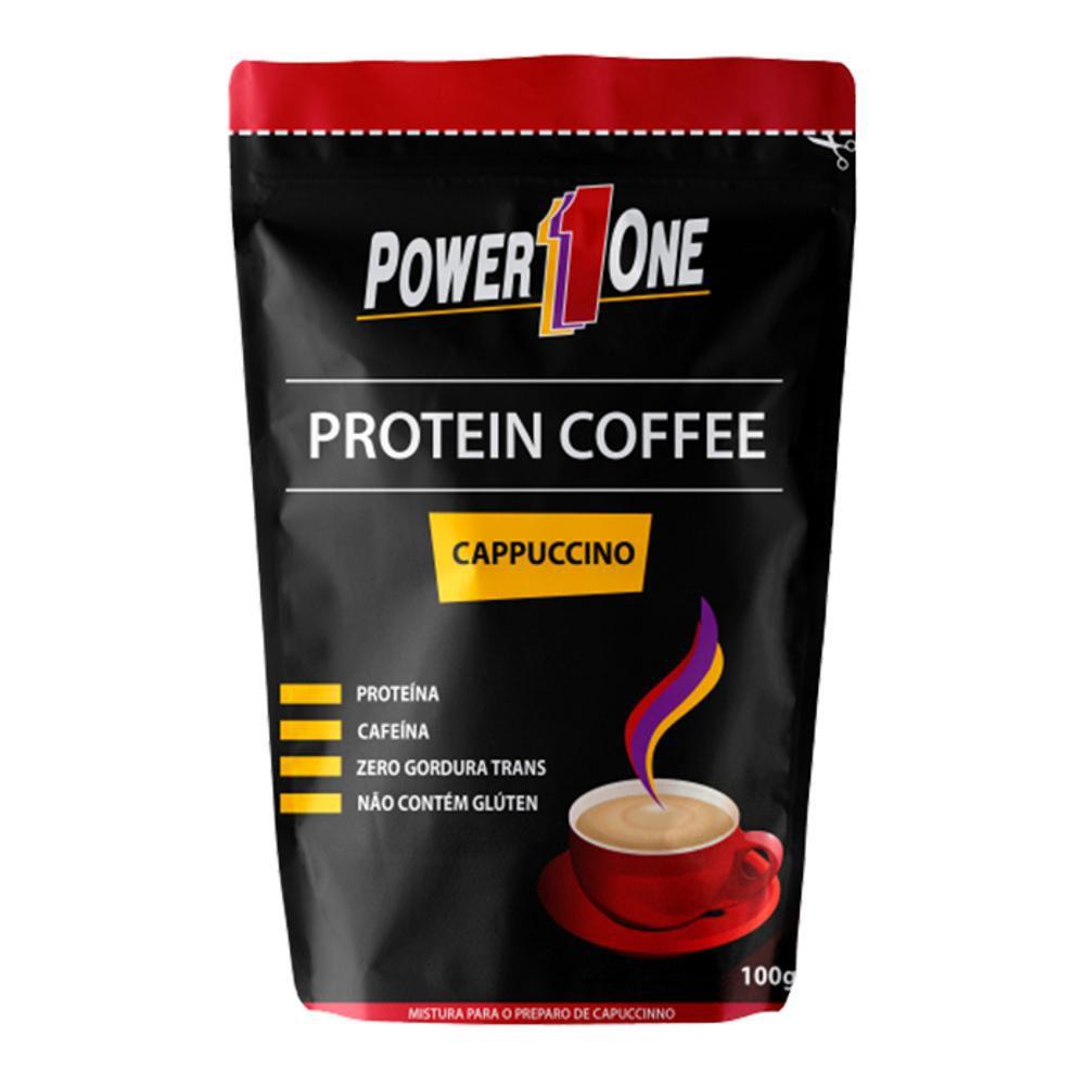 Café Proteico Cappuccino 100g Power1One