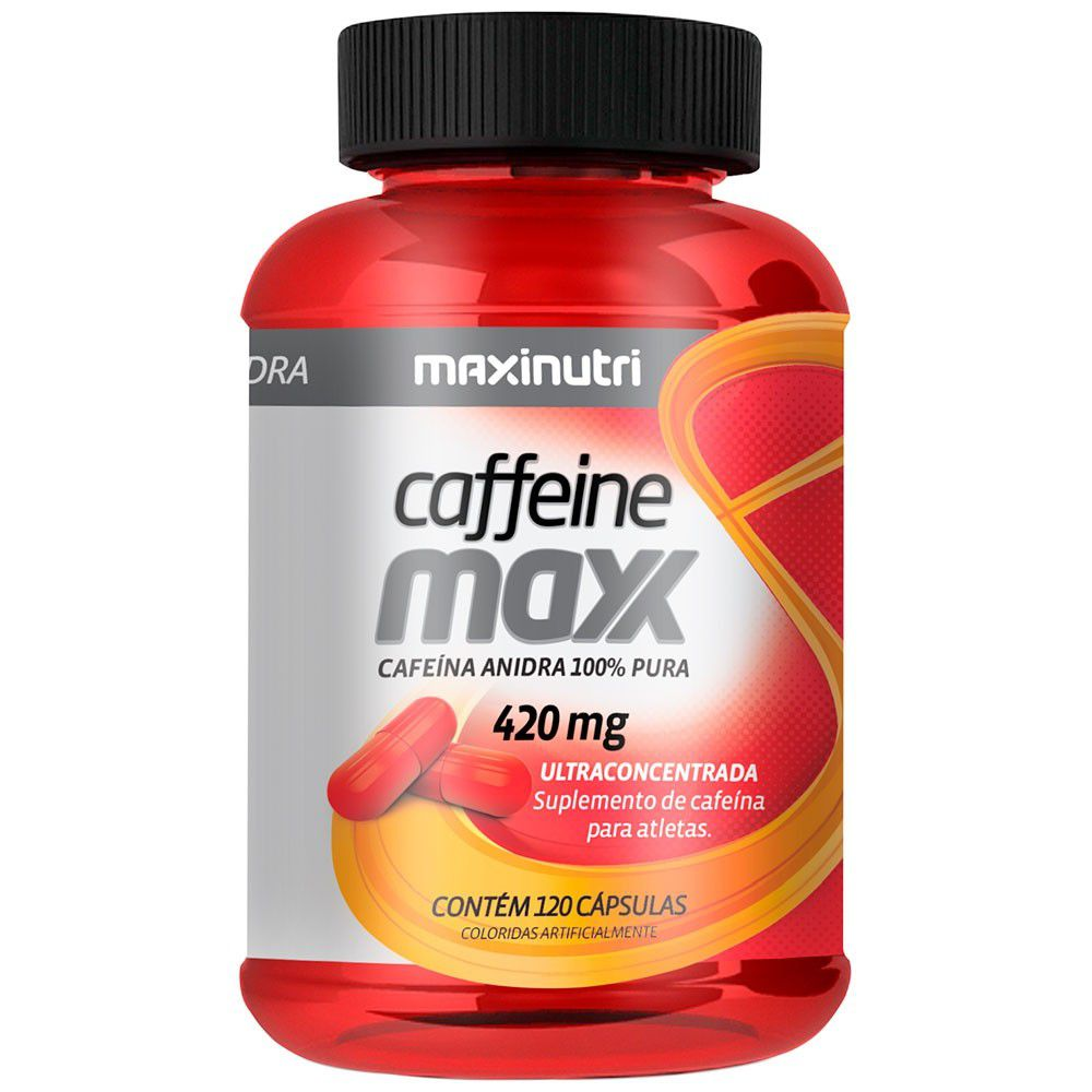 Caffeine Maxx 420mg 120 Cápsulas Maxinutri