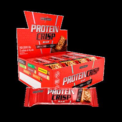 Caixa Protein Crisp 45g 12 Unidades Integralmedica