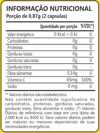 Camu Camu 400mg 60 Cápsulas Maxinutri