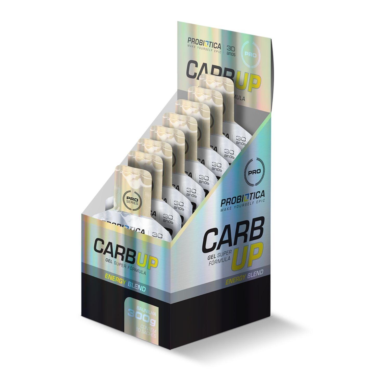 Carb Up Gel Super Fórmula 10 Sachês de 30g Probiótica