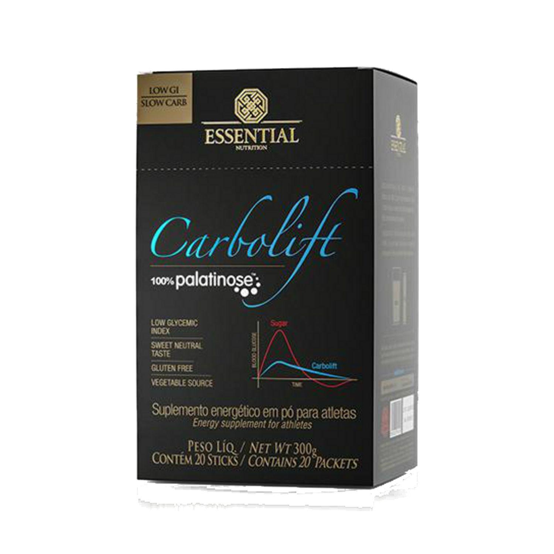 Carbolift 20 Sachês 15g Cada Essential Nutrition