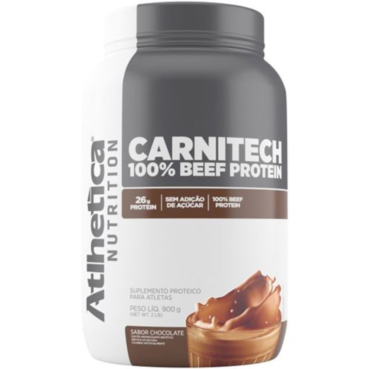 Carnitech 100% Beef Protein 900g Atlhetica Nutrition