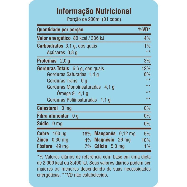 Bebida de Castanha de Caju + Coco 1L Vegetal Orgânica A Tal da Castanha