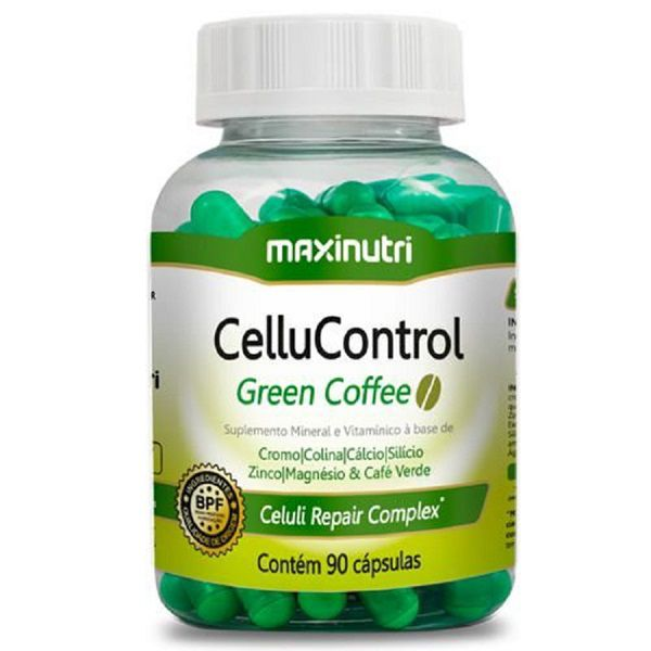 Cellucontrol Green Coffee 90 Cápsulas Maxinutri