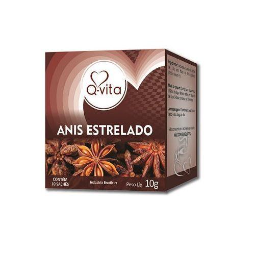 Chá de Anis Estrelado10 Sachês Q-Vita