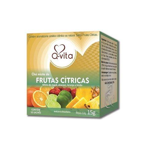 Chá de Frutas Cítricas 10 Sachês Q-Vita
