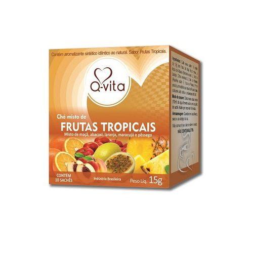 Chá de Frutas Tropicais 10 Sachês Q-Vita