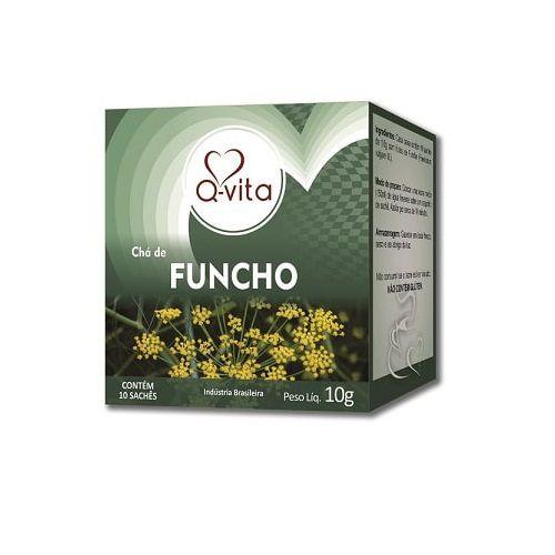 Chá de Funcho 10 Sachês Q-Vita