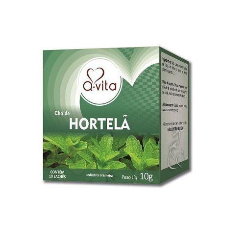 Chá de Hortelã 10 Sachês Q-Vita