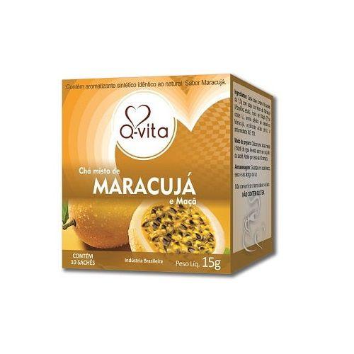 Chá de Maracujá 10 Sachês Q-Vita