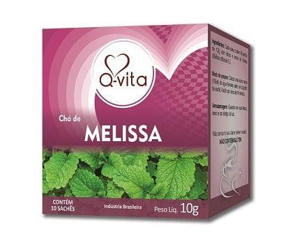 Chá de Melissa 10 Sachês Q-Vita