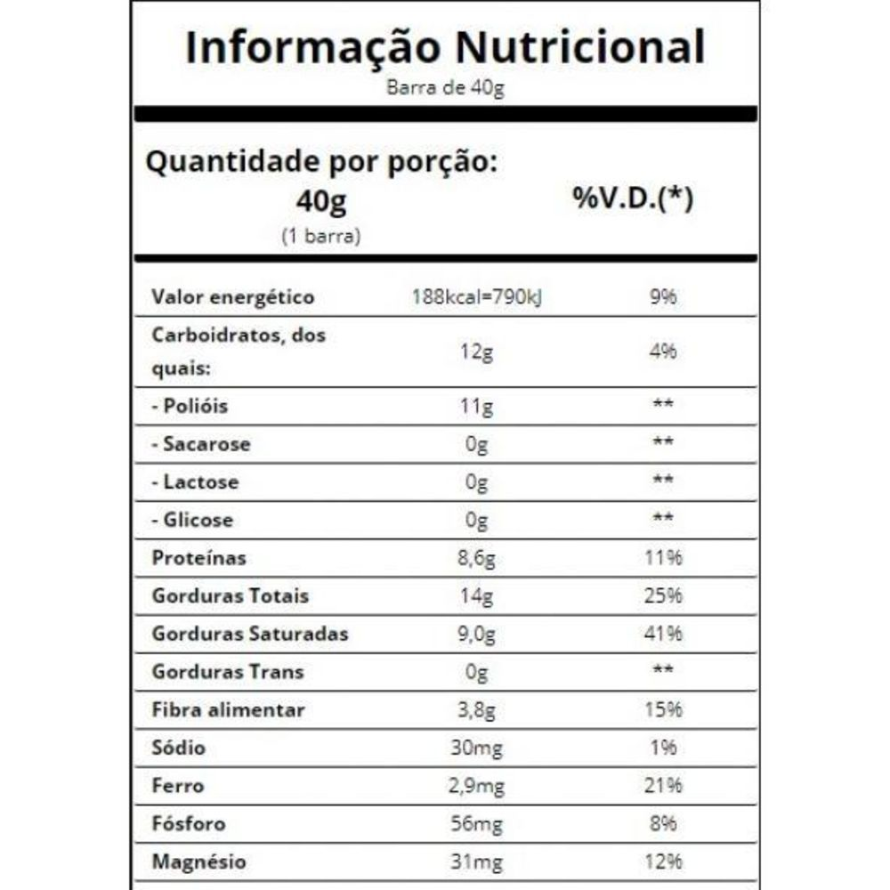 Chocolift Be Unique 40g Chocolate Proteíco Essential Nutrition