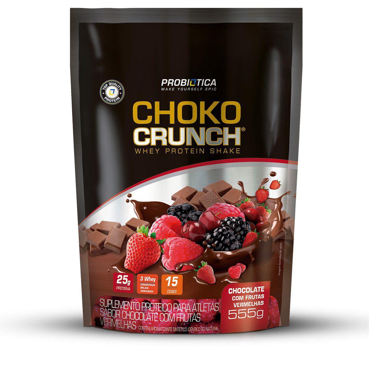 Choko Crunch Whey Protein Shake 555g Probiótica