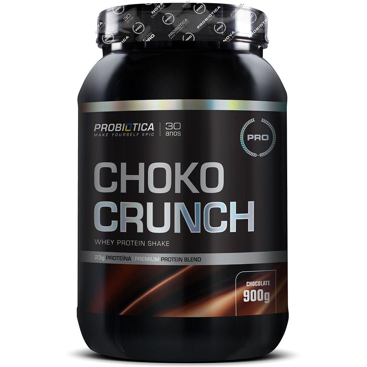 Choko Crunch Whey Protein Shake 900g Probiótica