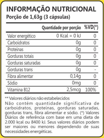 Clorela 400mg 60 Cápsulas Maxinutri