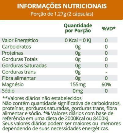 Cloresil Cloreto de Magnésio 500mg 60 Cápsulas Maxinutri