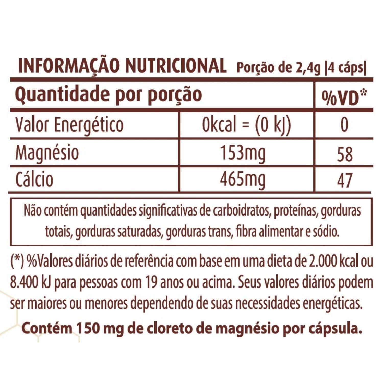 Cloreto de Magnésio 600mg 120 Cápsulas Apisnutri