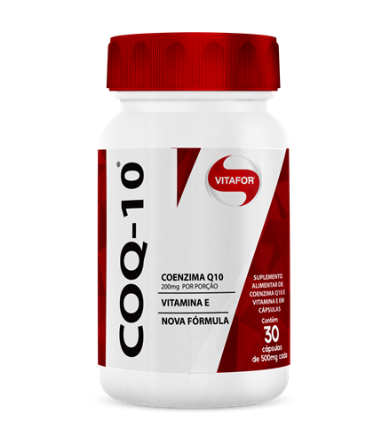 Coenzima COQ-10 60 Cápsulas Vitafor