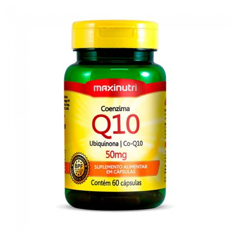 Coenzima Q10 50mg 60 Cápsulas Maxinutri