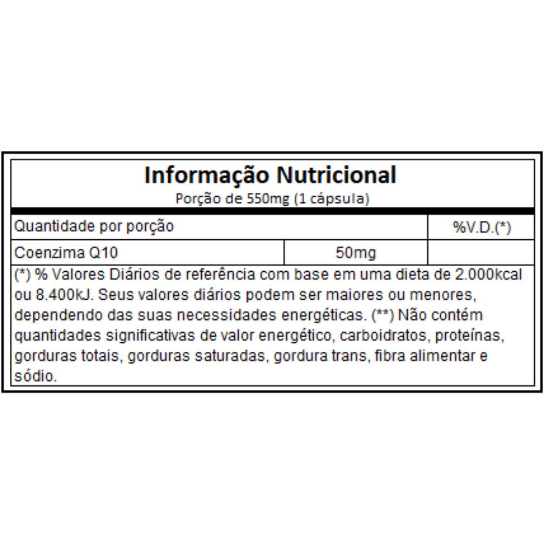 Coenzima Q10 CleanLab COQ10 50mg 60 Cápsulas Atlhetica Nutrition