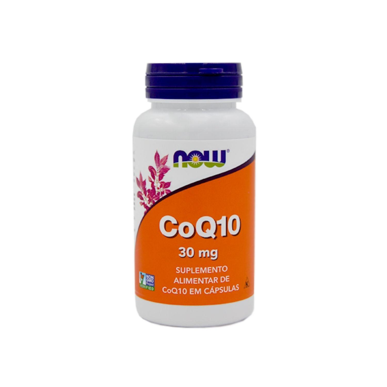 Coenzima Q10 CoQ10 30mg 60 Cápsulas Now Foods