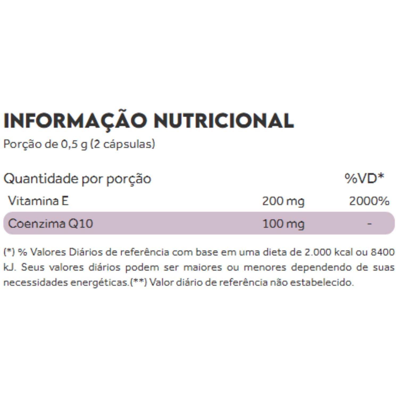 Coenzima Q10 CoQ10 Metabolic Health 60 Cápsulas Puravida