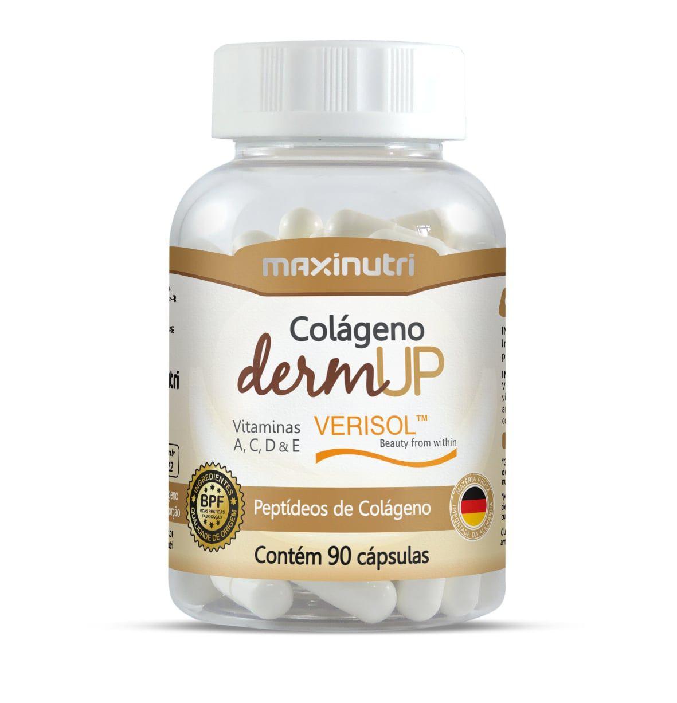 Colágeno Hidrolisado DermUp Verisol 90 Cápsulas Maxinutri