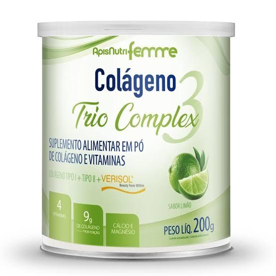 Colágeno Trio Complex 200g Apisnutri